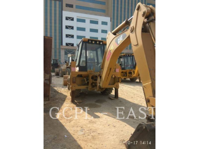 CATERPILLAR BACKHOE LOADERS 424 B equipment  photo 6