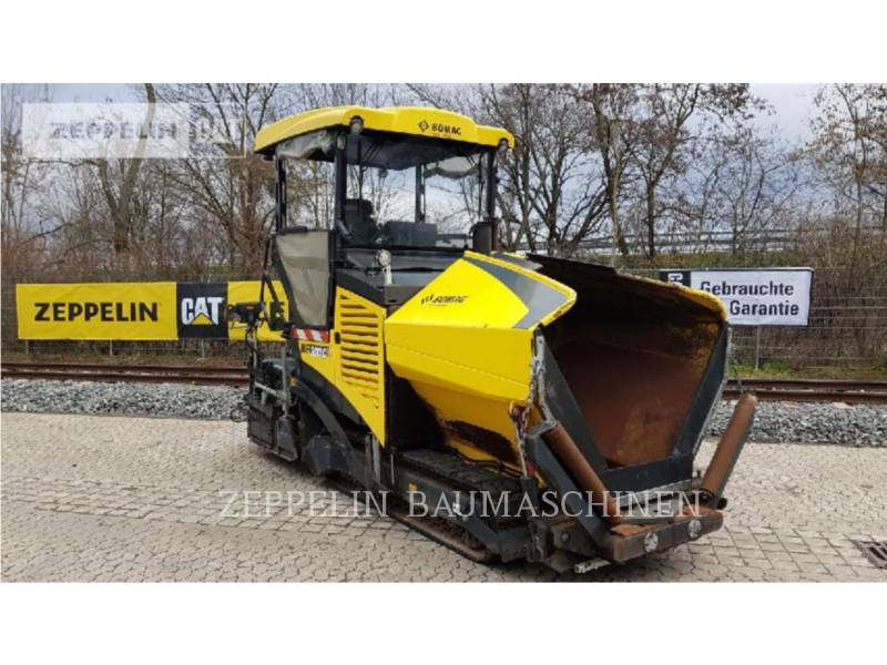 BOMAG ASPHALT PAVERS BF300C equipment  photo 1