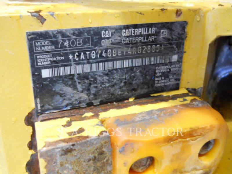 CATERPILLAR TOMBEREAUX ARTICULÉS 740B equipment  photo 23
