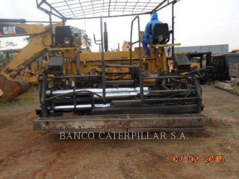 CATERPILLAR PAVIMENTADORA DE ASFALTO AP-1050 equipment  photo 9