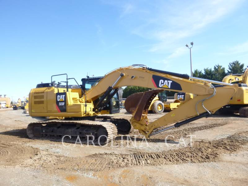 CATERPILLAR EXCAVADORAS DE CADENAS 323FL QC equipment  photo 4