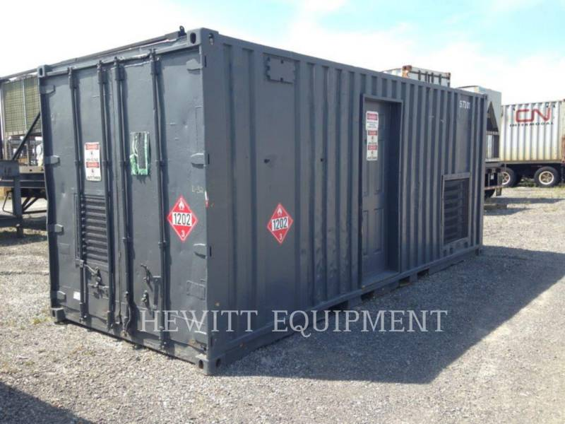 CATERPILLAR STATIONARY GENERATOR SETS 3304, 90KW 600V equipment  photo 1