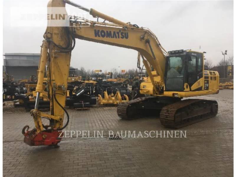 KOMATSU LTD. RUPSGRAAFMACHINES PC210-10 equipment  photo 1