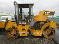 Equipment photo CATERPILLAR CB-434D TANDEMVIBRATIONSWALZE, ASPHALT 1