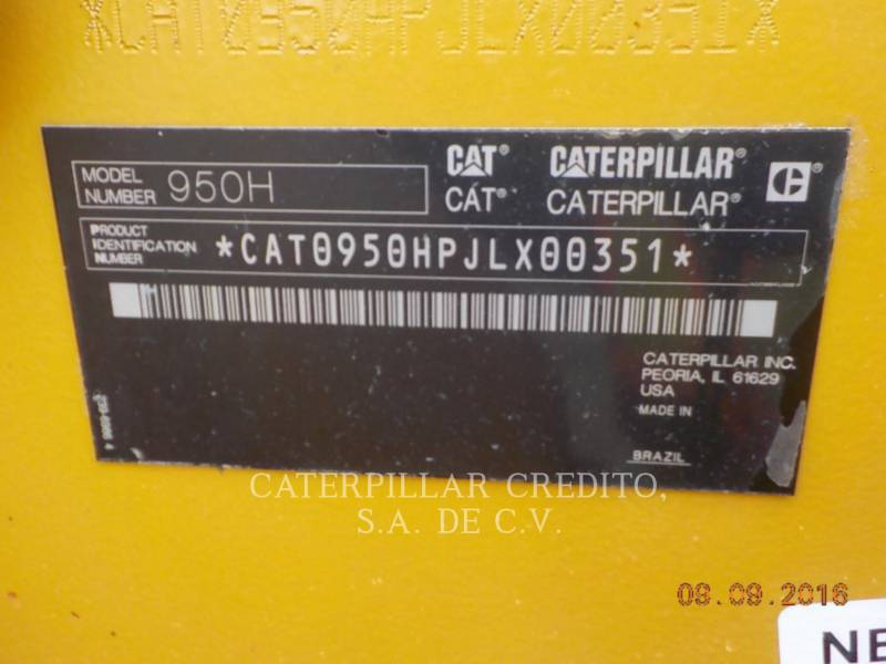 CATERPILLAR WHEEL LOADERS/INTEGRATED TOOLCARRIERS 950H equipment  photo 24