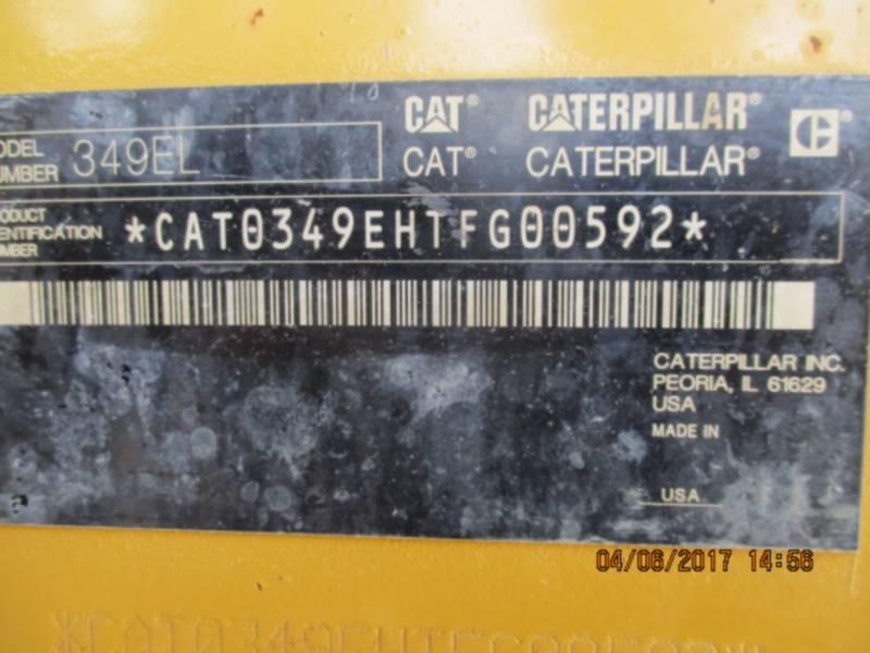 CATERPILLAR EXCAVADORAS DE CADENAS 349EL equipment  photo 6