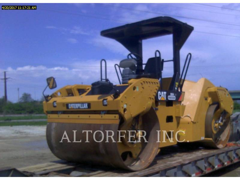 CATERPILLAR VIBRATORY DOUBLE DRUM ASPHALT CB54XW equipment  photo 1