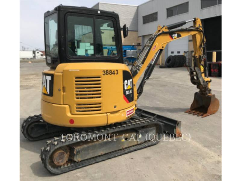 CATERPILLAR TRACK EXCAVATORS 303.5E2 CR equipment  photo 4