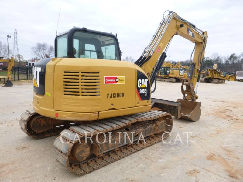 CATERPILLAR TRACK EXCAVATORS 308E2CR TH equipment  photo 6