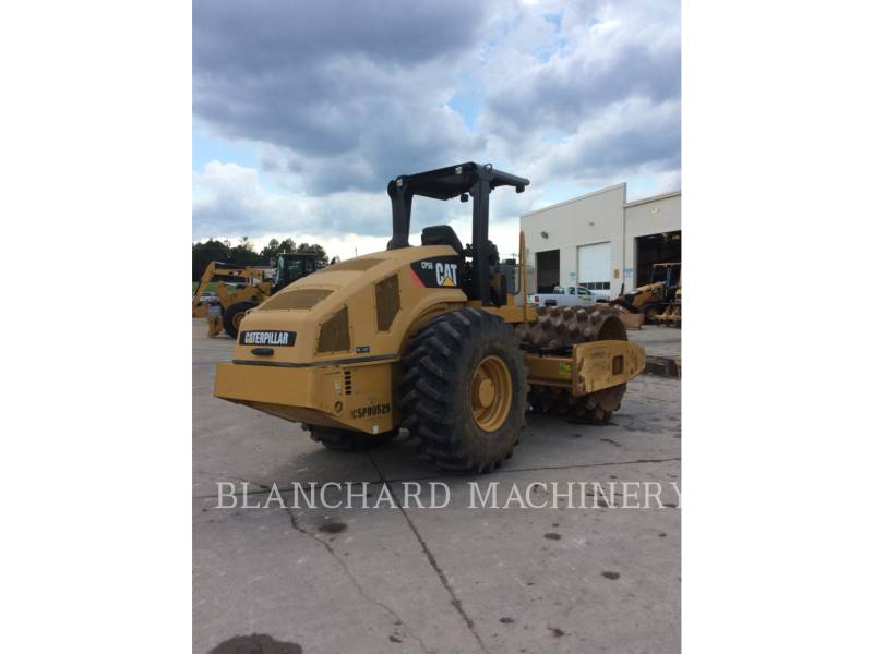 CATERPILLAR COMPACTEUR VIBRANT, MONOCYLINDRE À PIEDS DAMEURS CP56 equipment  photo 1