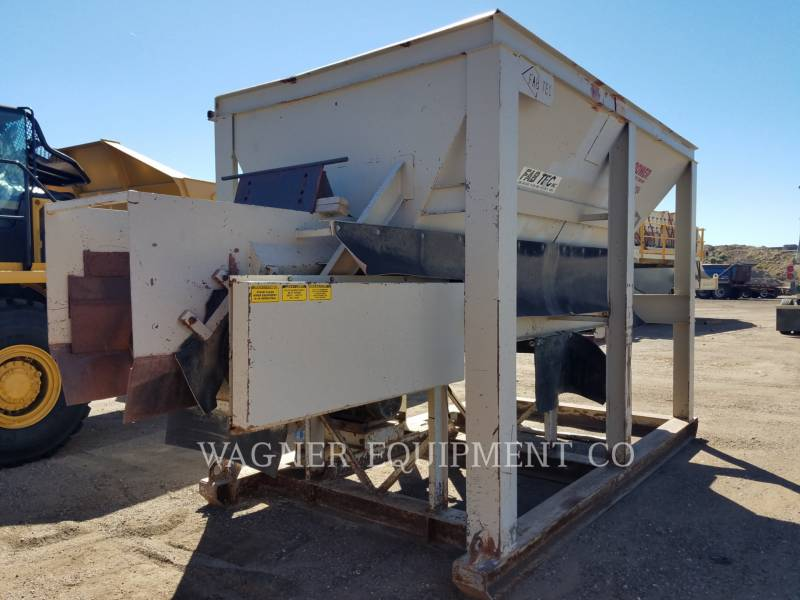 MISCELLANEOUS MFGRS CRUSHERS 36X15BELFF equipment  photo 1