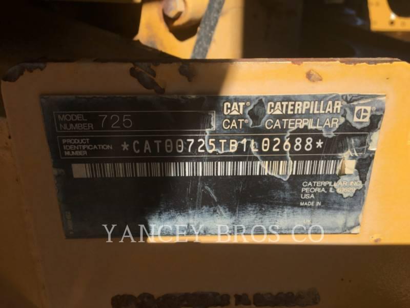 CATERPILLAR CAMIONES ARTICULADOS 725 WT equipment  photo 17
