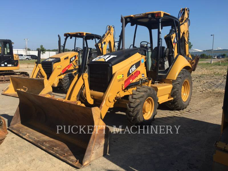 CATERPILLAR RETROESCAVADEIRAS 416E 4 equipment  photo 1