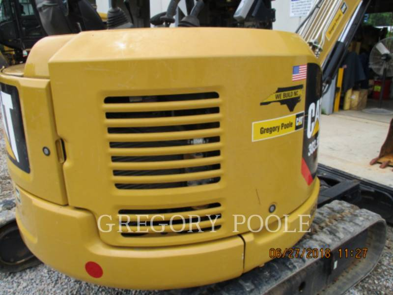 CATERPILLAR EXCAVADORAS DE CADENAS 303.5E2 CR equipment  photo 2