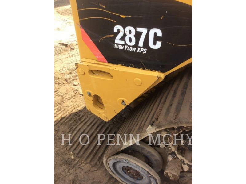 CATERPILLAR CHARGEURS TOUT TERRAIN 287C equipment  photo 12