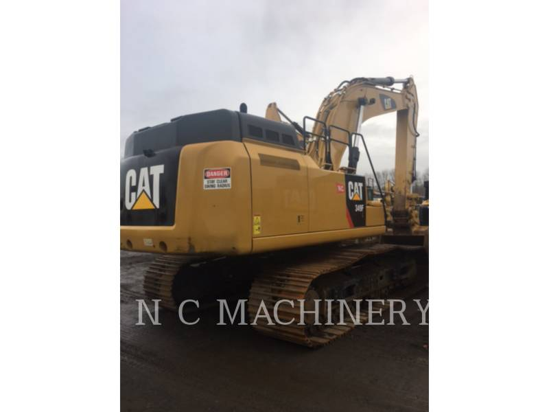 CATERPILLAR TRACK EXCAVATORS 349F L equipment  photo 3