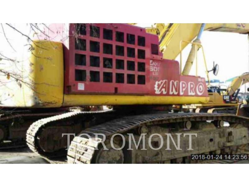 HITACHI EXCAVADORAS DE CADENAS ZX600 equipment  photo 3