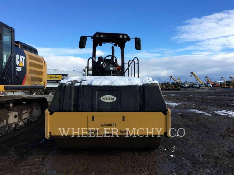 CATERPILLAR VIBRATORY SINGLE DRUM ASPHALT CS54B C110 equipment  photo 2