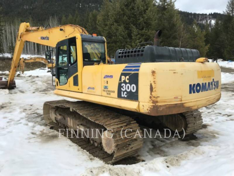 KOMATSU TRACK EXCAVATORS PC300LC-8 equipment  photo 5