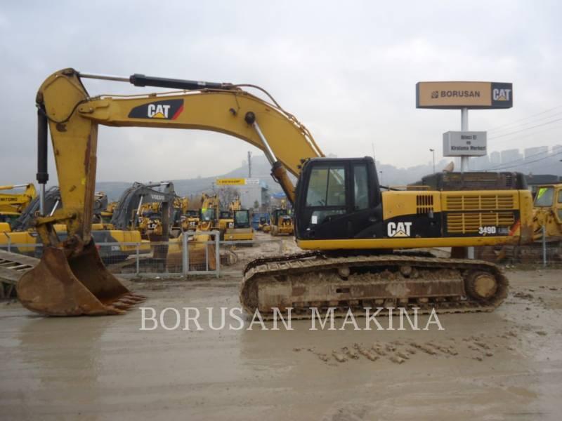 CATERPILLAR PELLE MINIERE EN BUTTE 349D equipment  photo 1