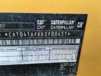 CATERPILLAR BACKHOE LOADERS 416F 4S equipment  photo 6