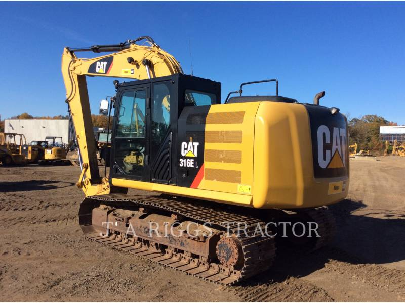 CATERPILLAR EXCAVADORAS DE CADENAS 316E 10 equipment  photo 4