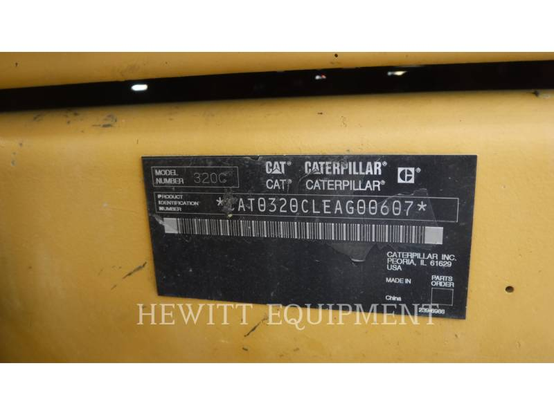 CATERPILLAR EXCAVADORAS DE CADENAS 320CL equipment  photo 13