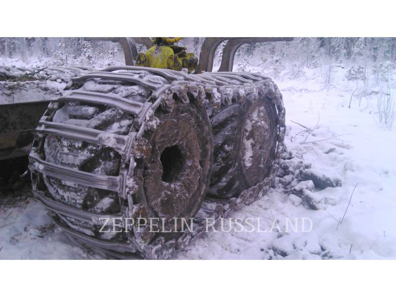 PONSSE FORSTWIRTSCHAFT - FORWARDER BUFFALO 8W equipment  photo 7