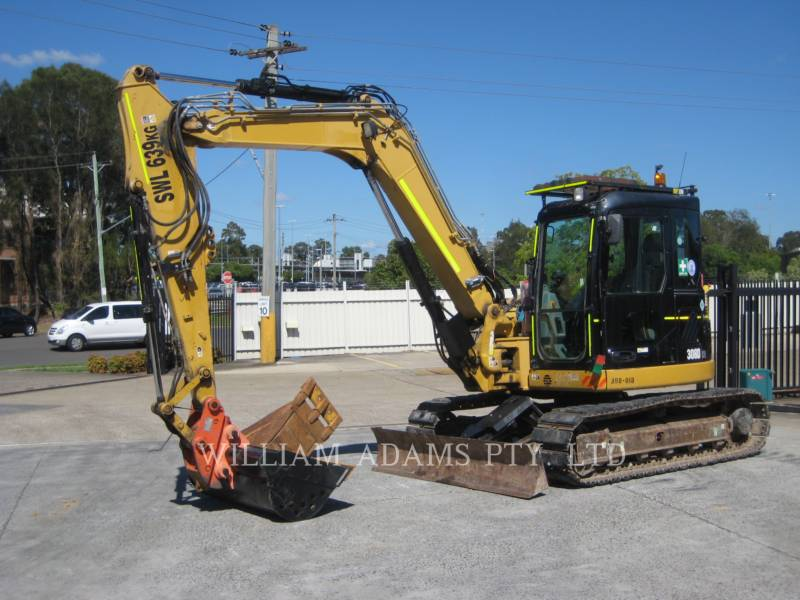 CATERPILLAR KOPARKI GĄSIENICOWE 308 D CR equipment  photo 4
