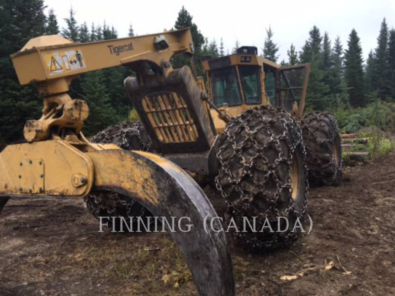 TIGERCAT FORESTRY - SKIDDER 630D equipment  photo 3