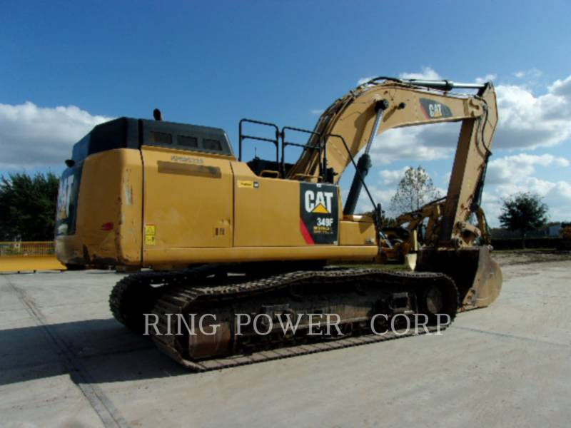 CATERPILLAR TRACK EXCAVATORS 349FL equipment  photo 4