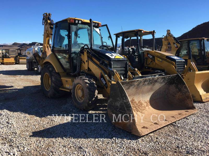 CATERPILLAR BAGGERLADER 420E IT E equipment  photo 1