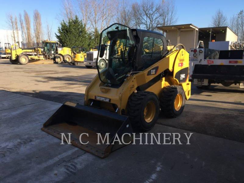 CATERPILLAR PALE COMPATTE SKID STEER 246C equipment  photo 1