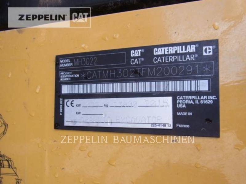 CATERPILLAR MOBILBAGGER MH3022 equipment  photo 10