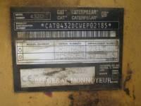 CATERPILLAR BAGGERLADER 432D equipment  photo 4