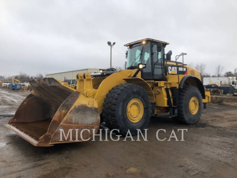 CATERPILLAR WHEEL LOADERS/INTEGRATED TOOLCARRIERS 980M LS equipment  photo 1