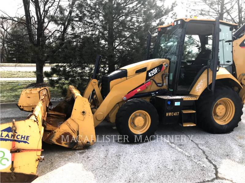 CATERPILLAR RETROEXCAVADORAS CARGADORAS 420 F equipment  photo 2