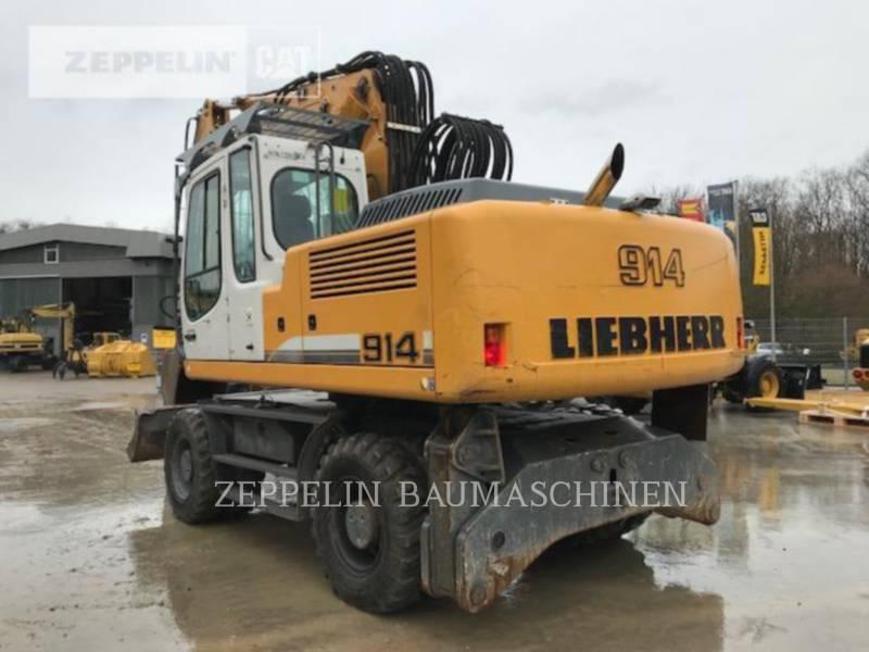 LIEBHERR EXCAVADORAS DE RUEDAS A914CLIT equipment  photo 4