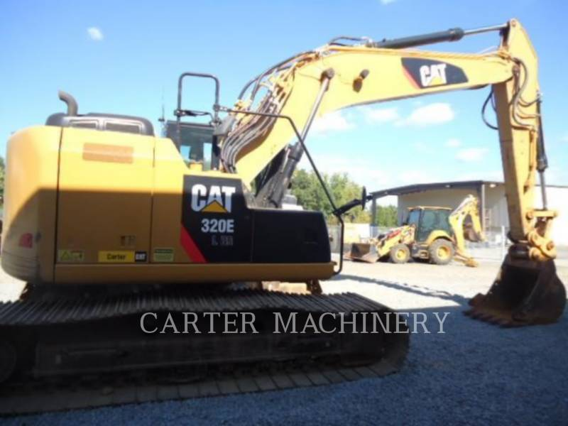 CATERPILLAR KETTEN-HYDRAULIKBAGGER 320ELRR CF equipment  photo 1