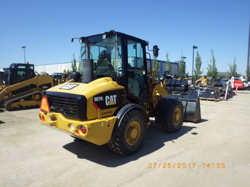 CATERPILLAR CARGADORES DE RUEDAS 907H2 equipment  photo 3