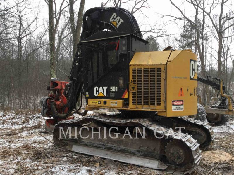 CATERPILLAR FORESTRY - PROCESSOR 501HD equipment  photo 3