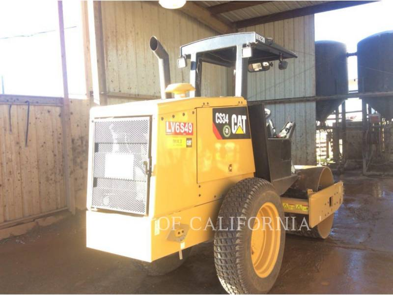CATERPILLAR COMPACTADORES DE SUELOS CS34 equipment  photo 2