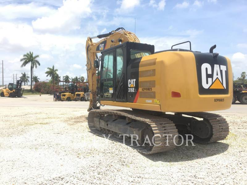 CATERPILLAR ESCAVADEIRAS 316EL equipment  photo 6
