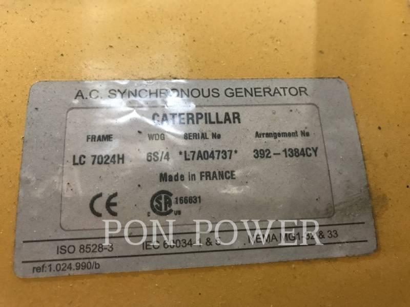CATERPILLAR 固定式発電装置 C18 DI-TA equipment  photo 6