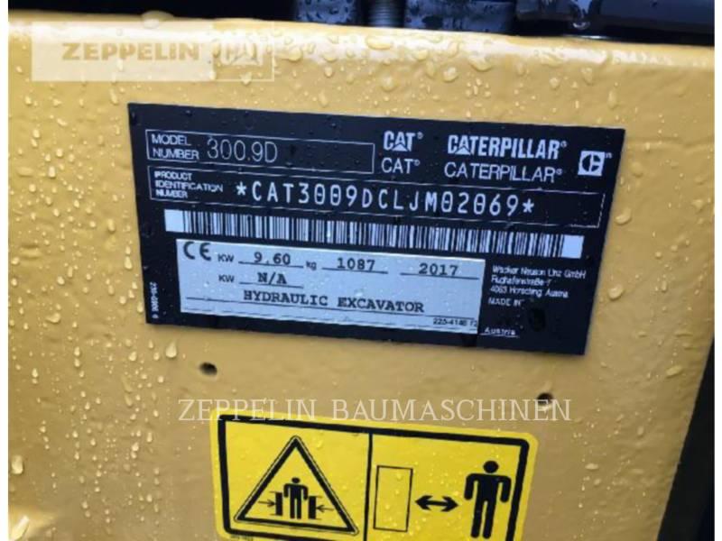 CATERPILLAR KOPARKI GĄSIENICOWE 300.9D equipment  photo 6