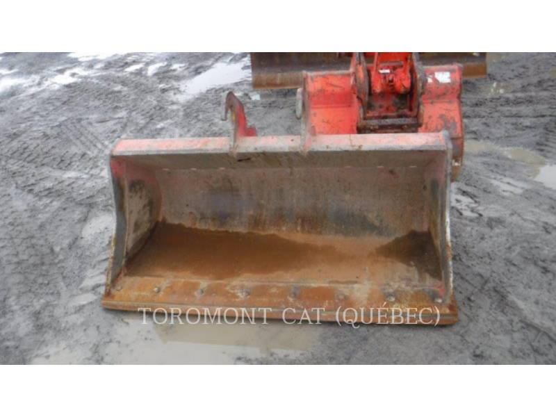 KUBOTA CORPORATION KOPARKI GĄSIENICOWE KX080 equipment  photo 4