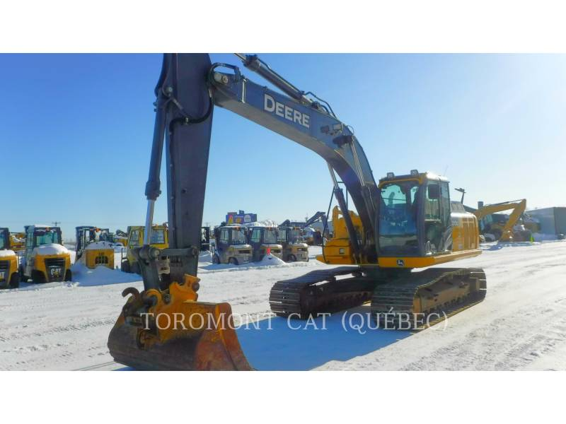 JOHN DEERE TRACK EXCAVATORS 210G equipment  photo 1