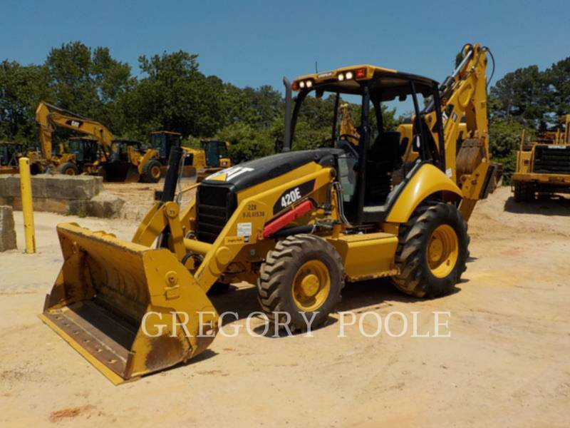 CATERPILLAR BACKHOE LOADERS 420E equipment  photo 1