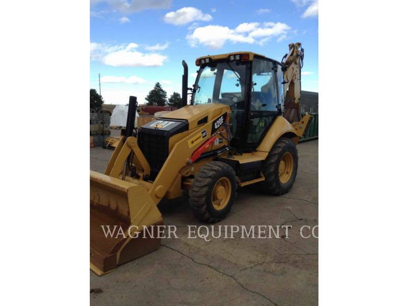 CATERPILLAR CHARGEUSES-PELLETEUSES 420F 4WDE equipment  photo 1