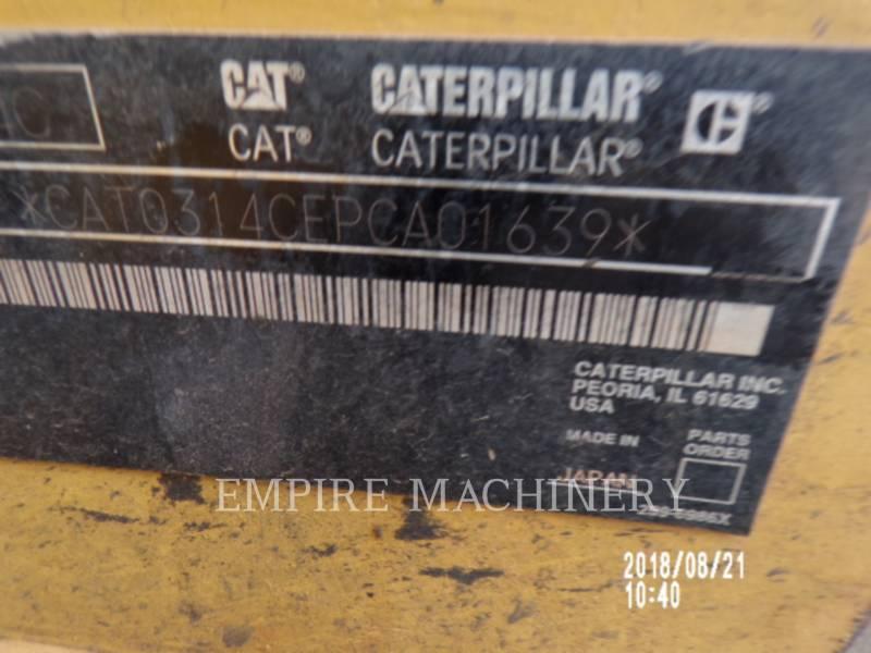 CATERPILLAR TRACK EXCAVATORS 314CLCR equipment  photo 13